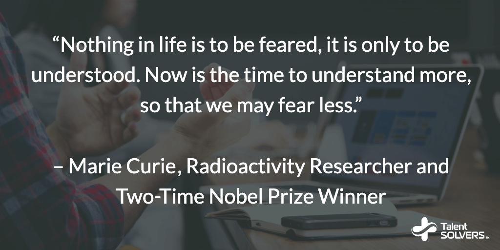 Marie Curie Career Quotes